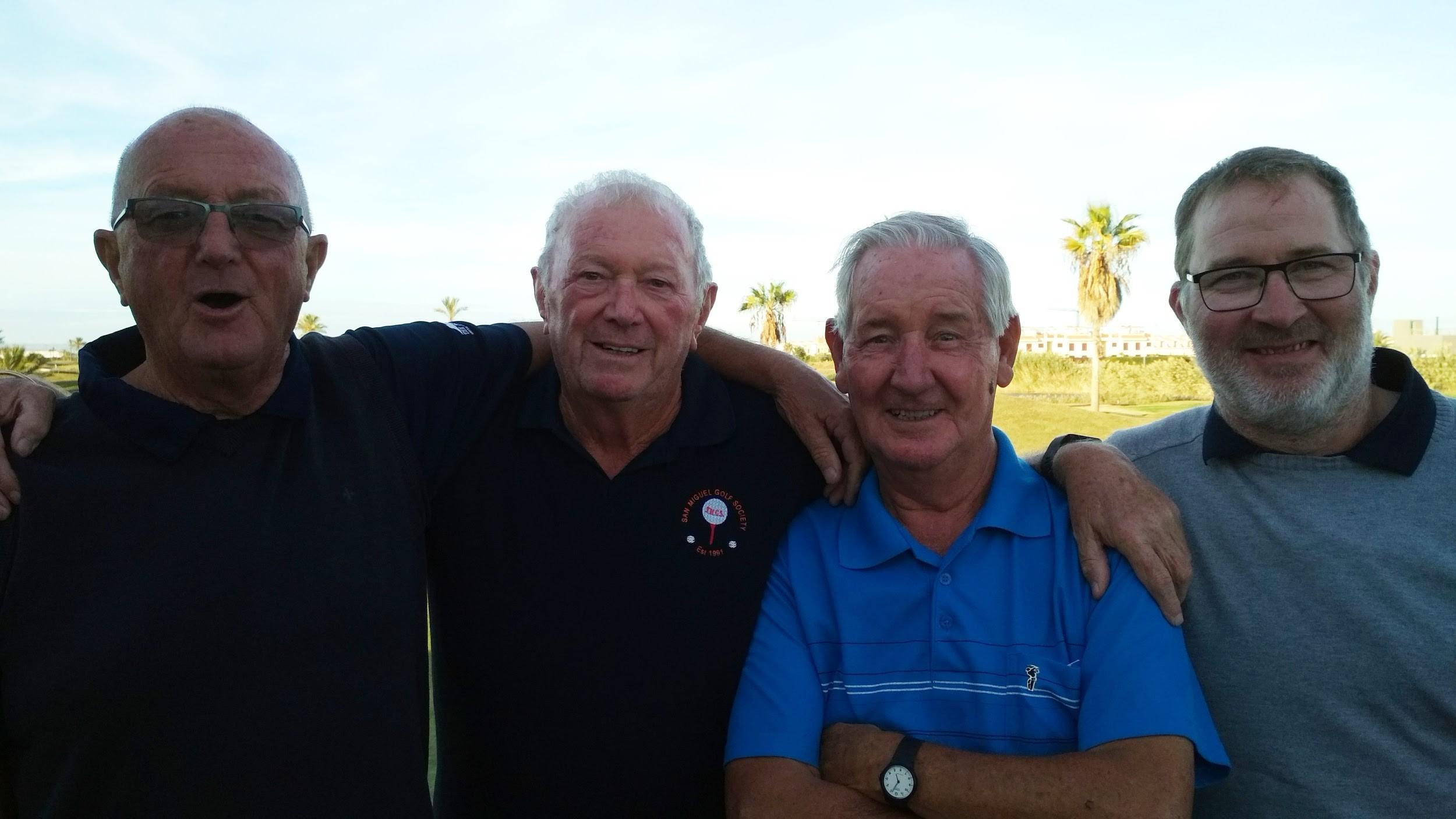 San Miguel Golf Society Serena 7th November, 2018