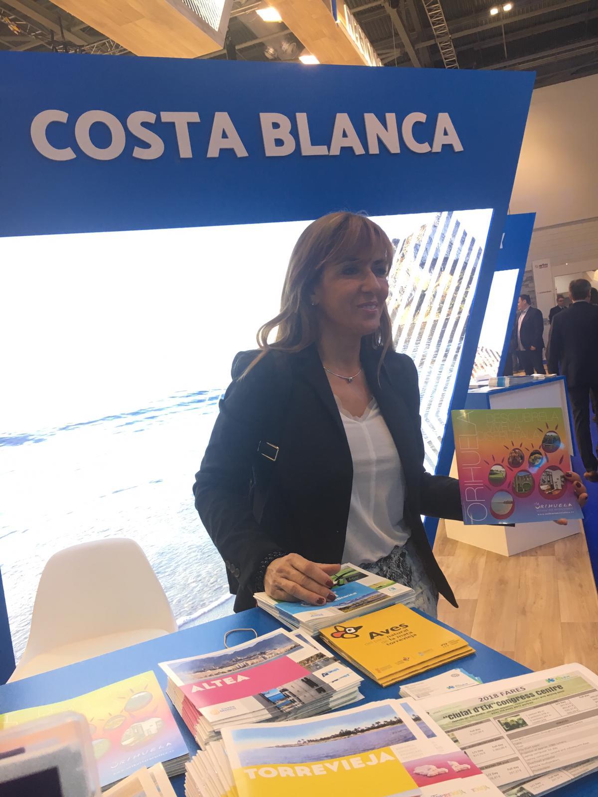 Orihuela and Torrevieja represented at London Tourism Fair