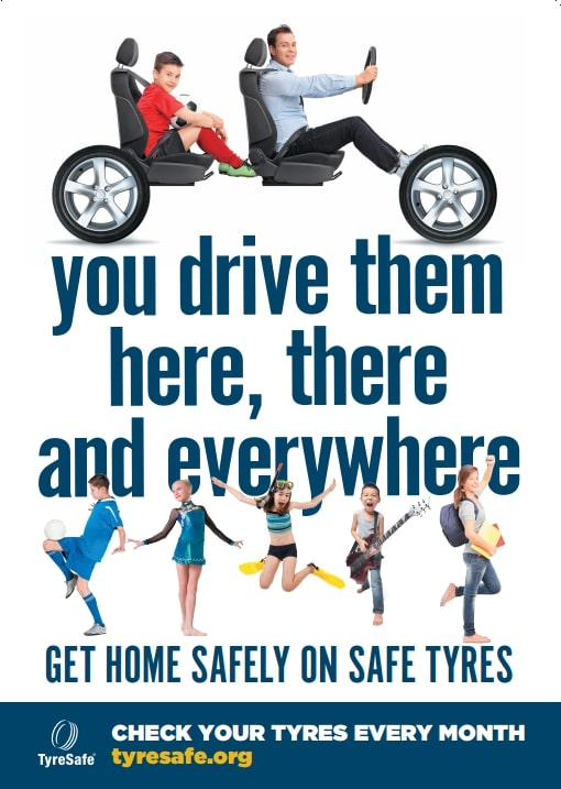 Home safely on safe tyres for teenagers campaign