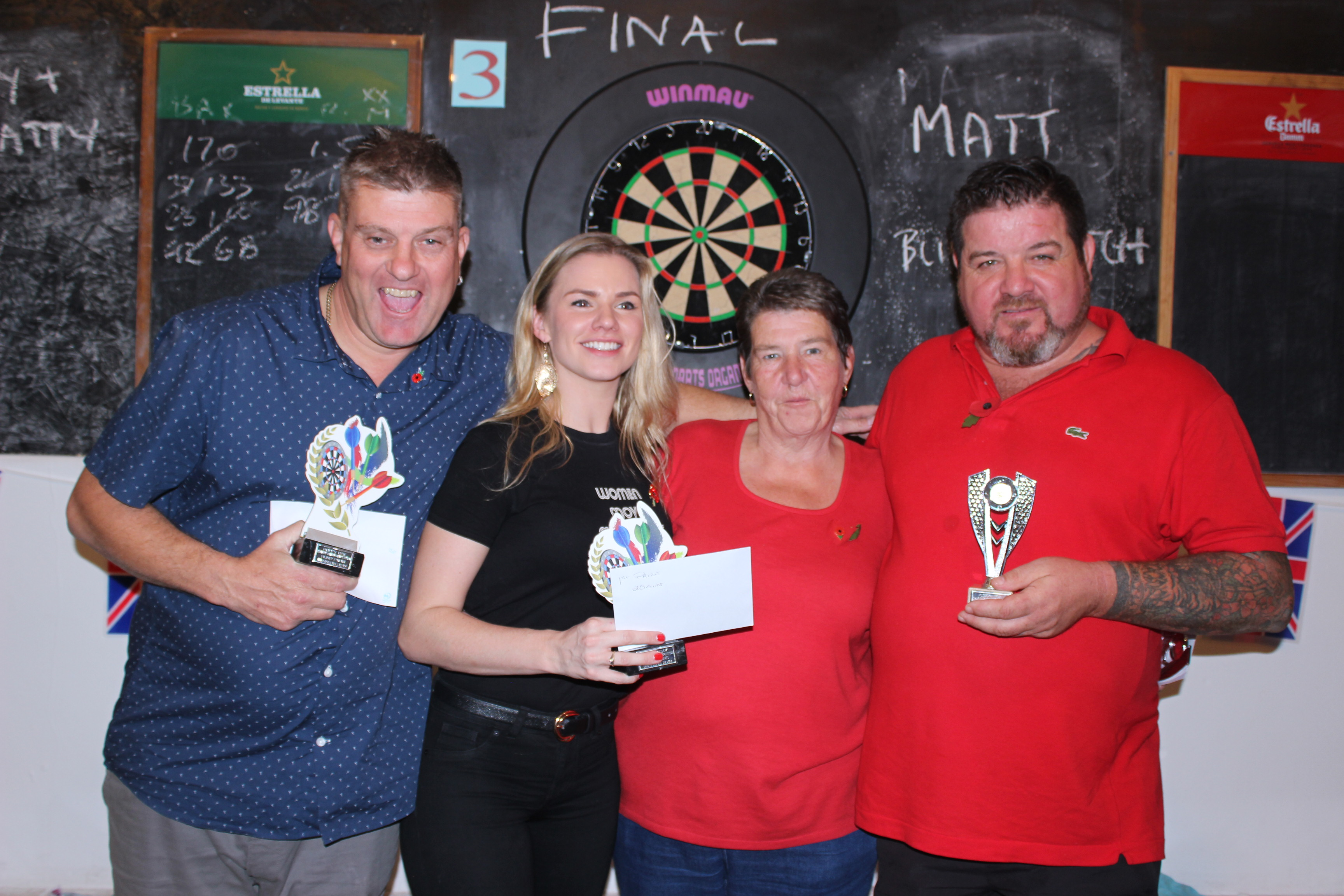 Poppy Day Darts Competition