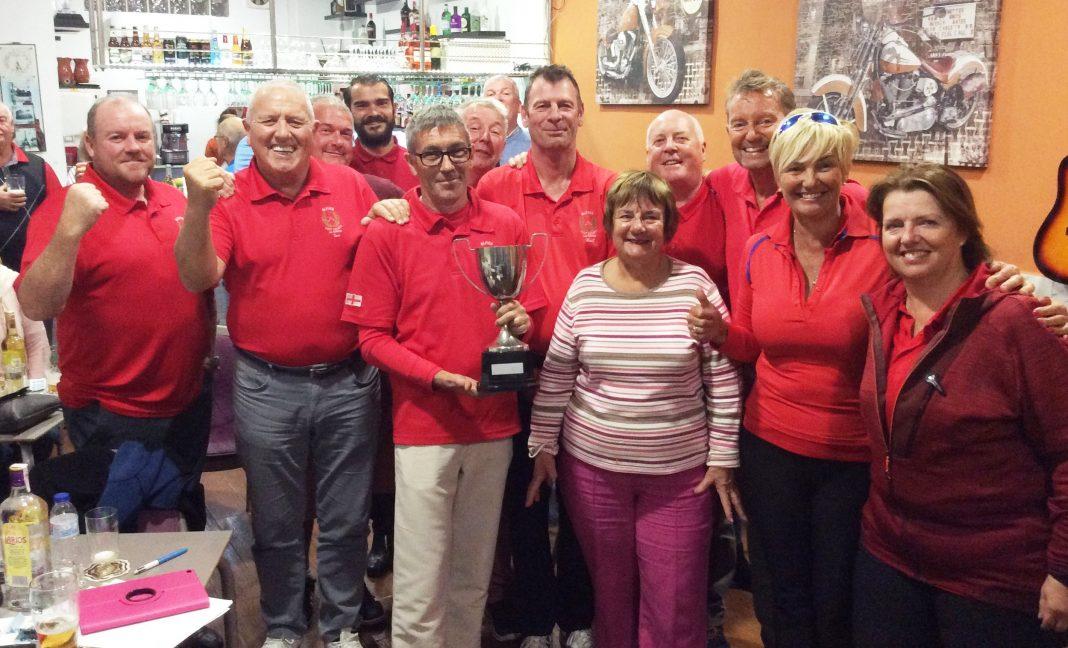 Captain v President Alfies Golf Society January 6th 2019