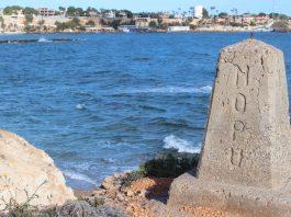 Aguamarina looking over to Cabo Roig marina