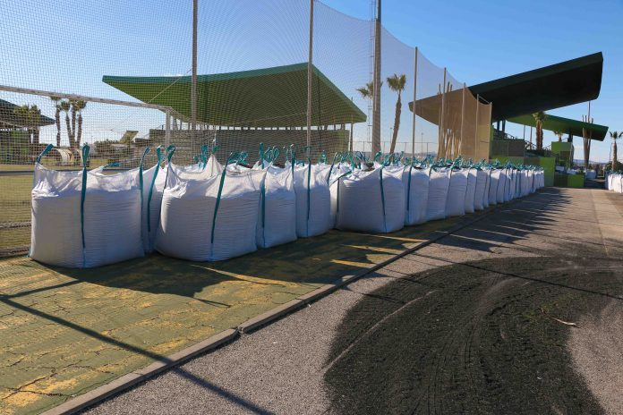 Torrevieja football fields re-laid