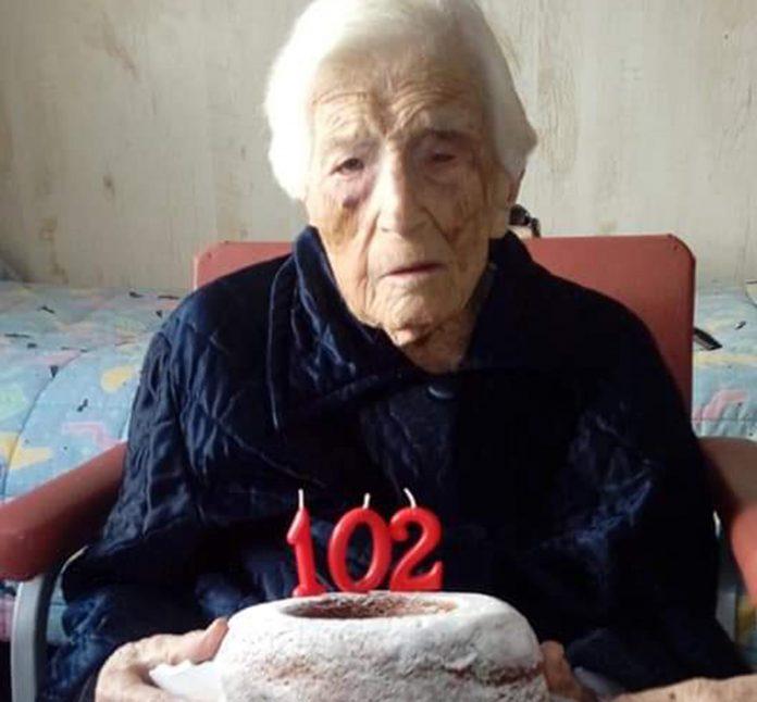 Horadada's elder stateswoman celebrates her 102nd birthday