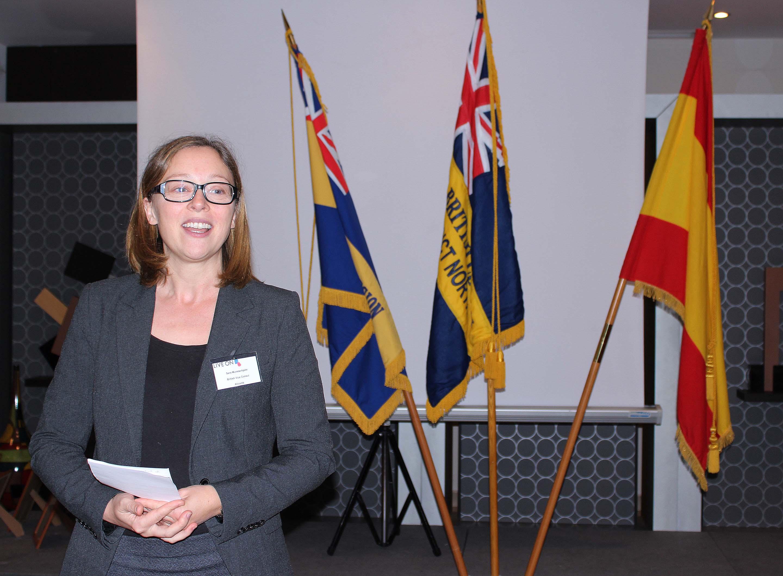 British Vice Consul Sara Munsterhjelm