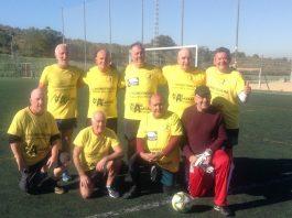 Gran Alacant Oldies Walking Football.