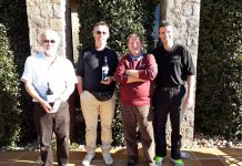 Orba Warblers Golf Society Wednesday 9th January, La Sella