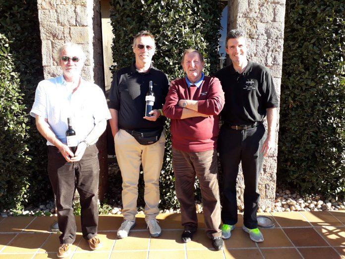 Orba Warblers Golf Society Wednesday 9th January, La Sella
