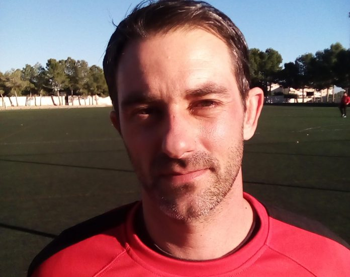 Ruben: Monte coach faces sixth placed Hondon at the weekend in bid to bounce back after defeat at Catral.