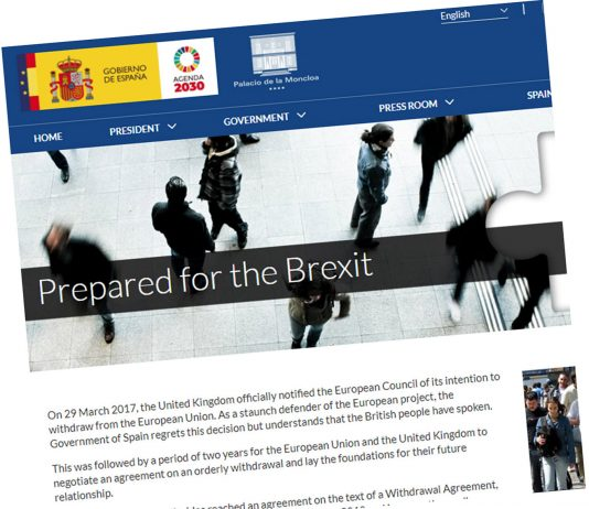 British embassy welcomes the Spanish government's new web resource for UK nationals in Spain