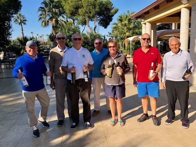 El Plantio 2 Golf Society's Pairs Joker Competition