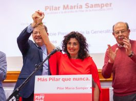 Presidential support for 'The Lady in Red'