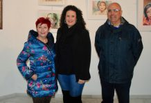 "Watercolours On Show At Mojácar's ""La Fuente"" Art Gallery"