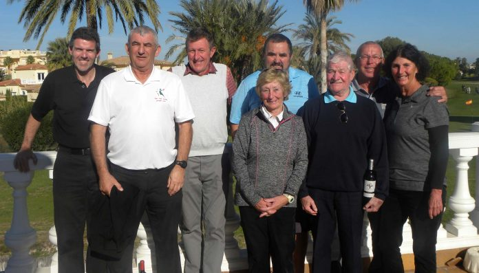 Pego Golf Society Pairs Betterball competition