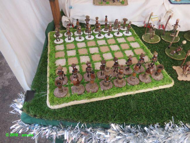 Amata craft fair in Pedreguer during the San Blas fiestas