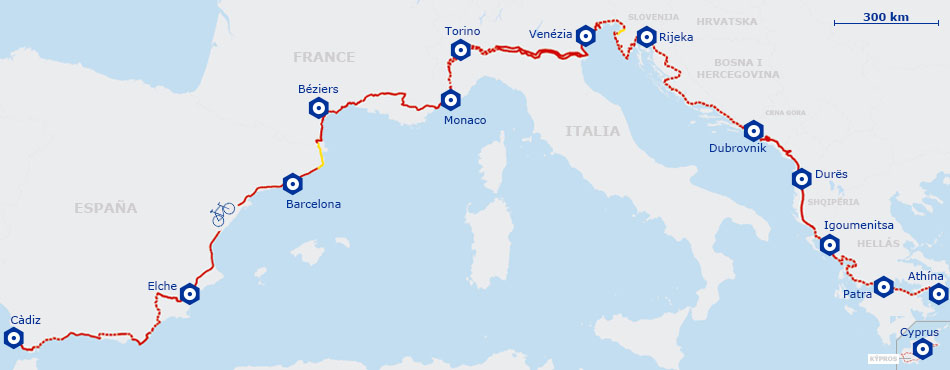 The 'Mediterranean bicycle corridor' extends to the Vega Baja
