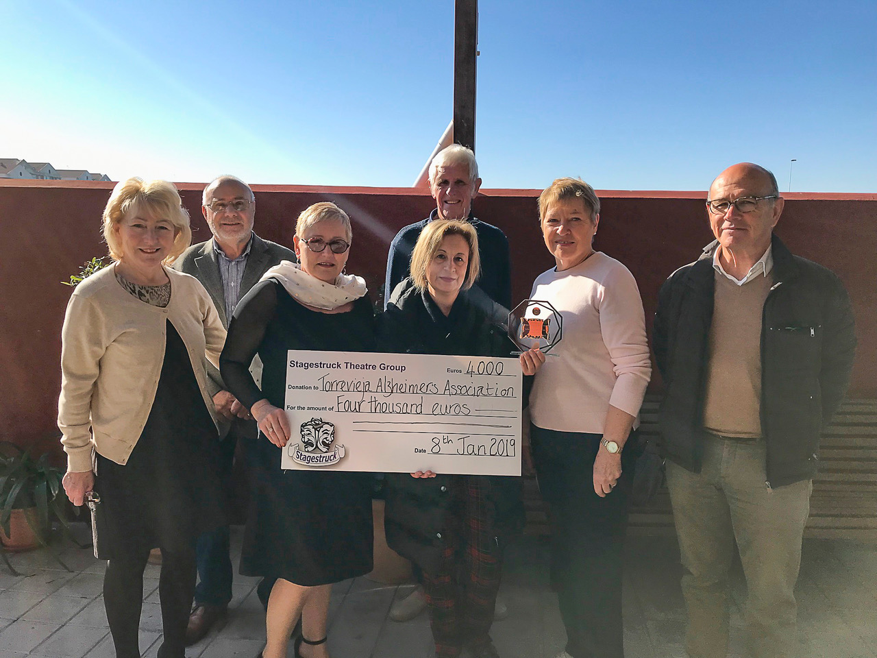 Stagestruck Presentations amount to 5,000 euro
