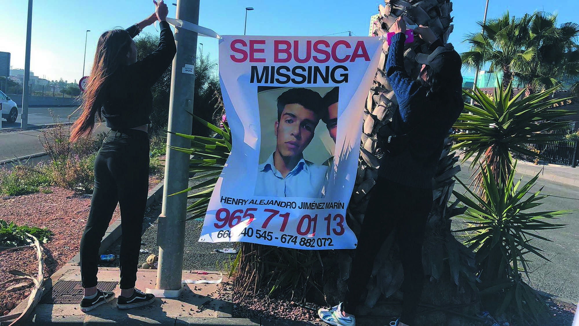 Anyone with any information about his whereabouts is asked to call in confidence 062 or 112.
