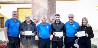 Imanyo Golf Society Raises €1200 for Charities
