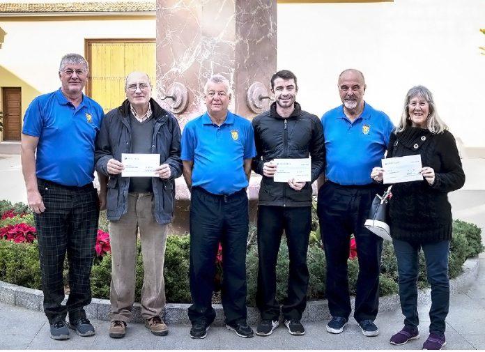 Imanyo Golf Society Raises €1200 for Charities
