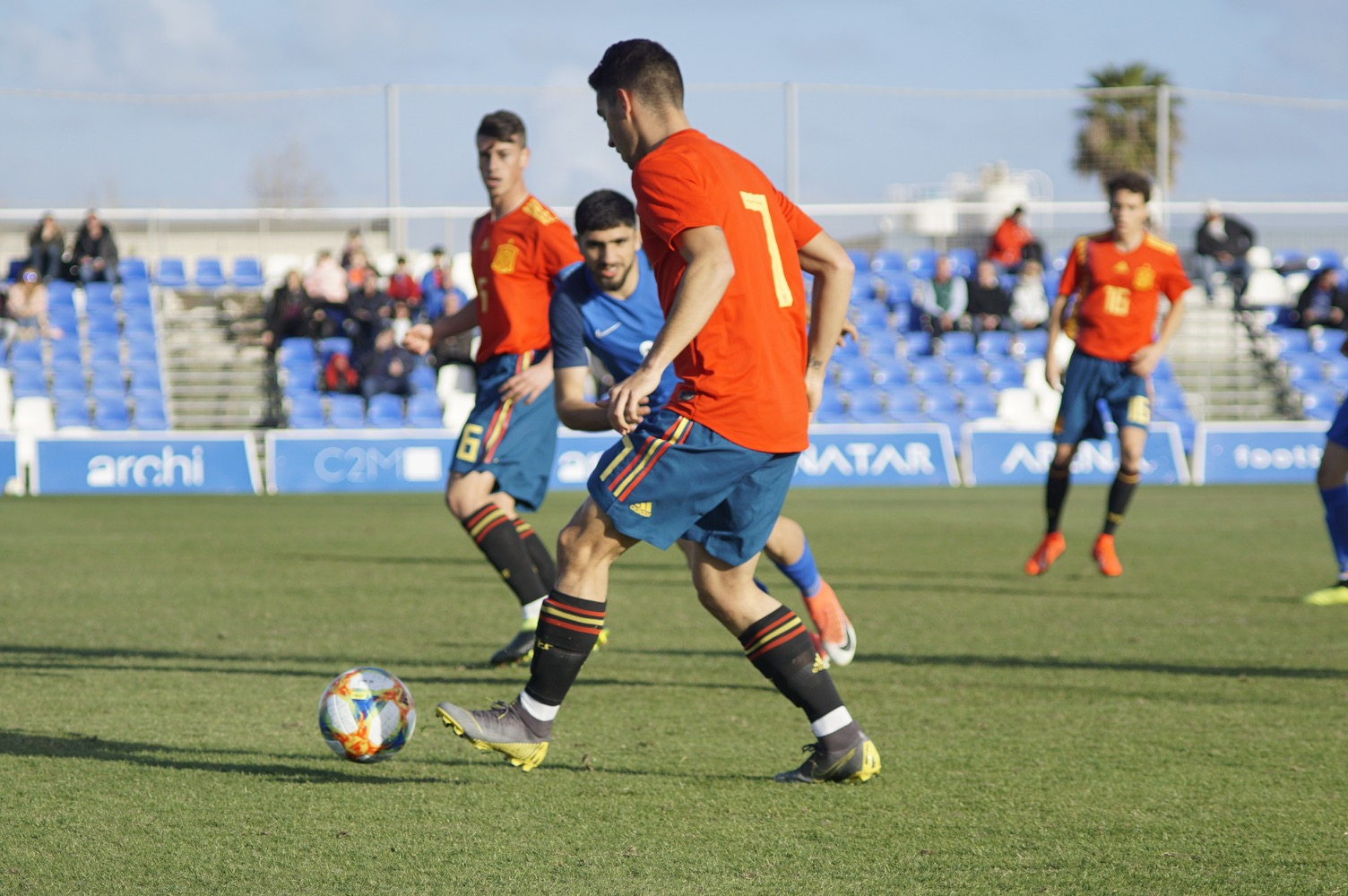 Cantero and Marqués on target for Spain Under 19