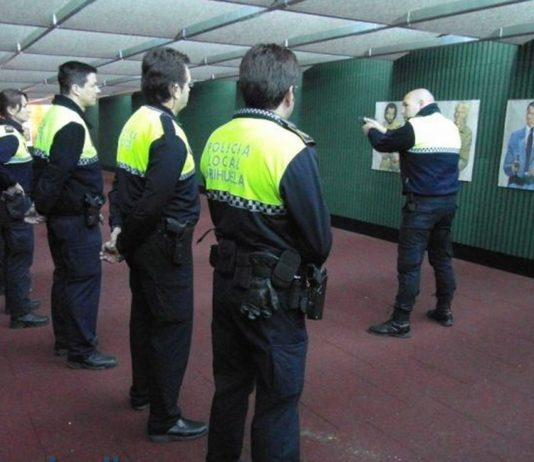 Are Orihuela police safe to carry firearms? FILE PHOTO