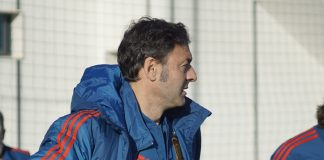 Spain are coached by Santi Denia