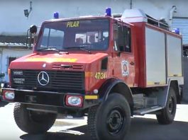 Fire tender for Horadada's Civil Protection