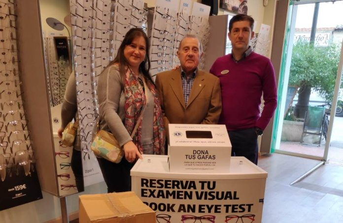 Specsavers Ópticas and the Lions Club renew their agreement