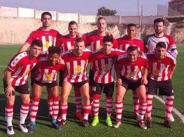 CD Montesinos line up before the game against San Fulgencio. Photo: Terry Harris.