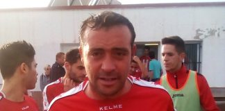 CD Montesinos captain Fernando.