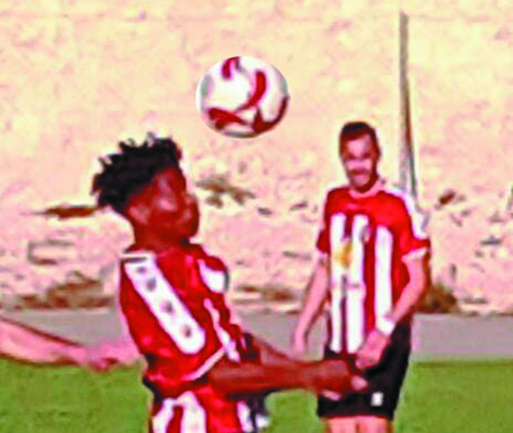 Brazilian star striker Vazquinho put on a late, late, show - netting a 93rd minute winner