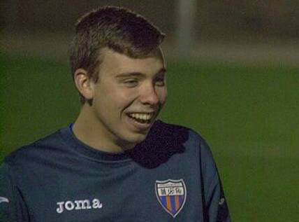 David Gomez Conesa - Racing San Miguel prodigy that joined CF Torrevieja this month.