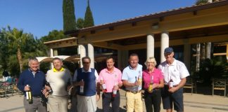 Picture from L to R: Barry Walthall, Alan Janes,Rod Loveday, Alistair Douglas, Brian Coupe, Chris Linathan, Ken Green.