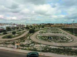Orihuela Costa road Safety Park unused for 20 years