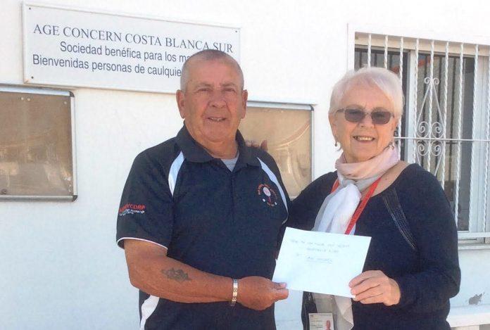 San Miguel Golf Society Visits Age Concern