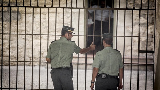 The Torrevieja jail where the suspects are being held