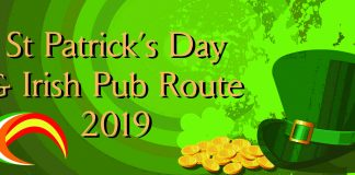 St Patricks Day and Irish Pub Route 2019