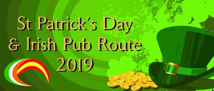 St Patricks Day and Irish Pub Route 2019