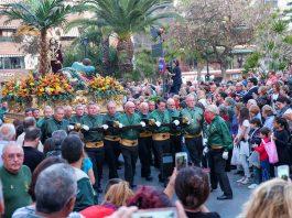 The International Cofradia during Semana Santa in Torrevieja
