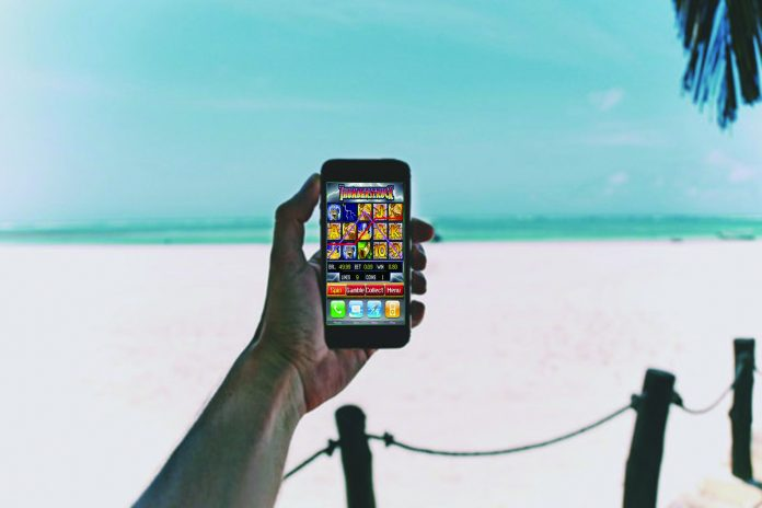 Top five online slots games to play on holiday