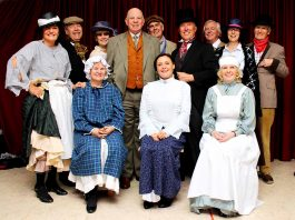 Most of the cast