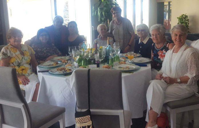 Mojácar's Dames in Spain celebrateInternational Women's Day