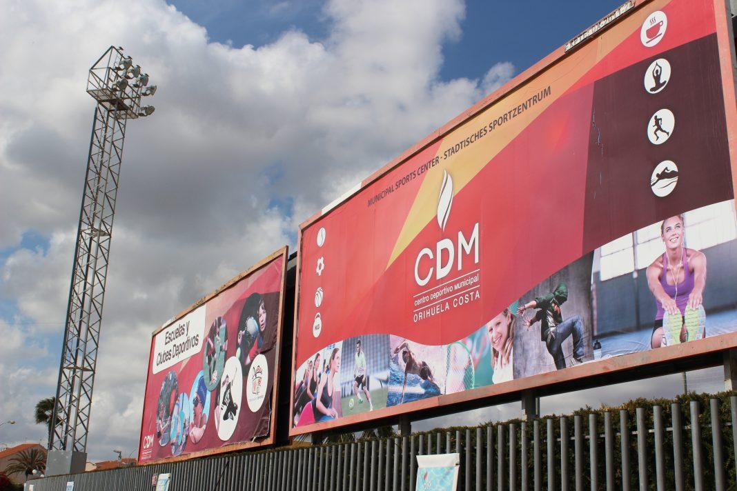 Orihuela Costa sports centre closed