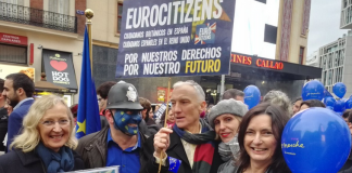 23M: Demonstration in Madrid for Citizens' Rights and calling for a Second Referendum