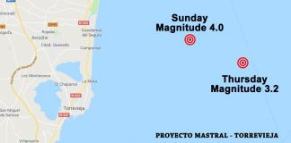 Second earthquake hits Torrevieja in four days
