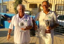 La Marina Bowls Club with Chris Bould