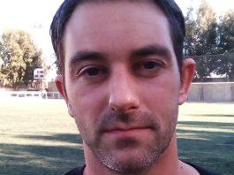 CD Montesinos coach Ruben. Photo: Andrew Atkinson.