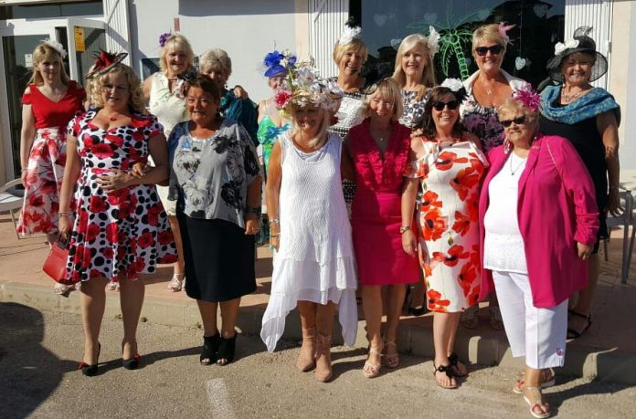 Ladies Day at the Cheltenham Festival at The Oasis Los Montesinos.