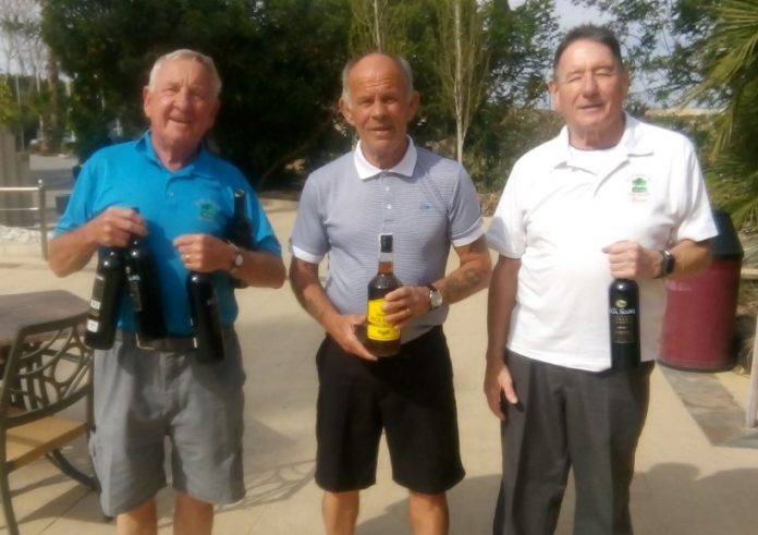Picture from L to R: Ray Housley, Paddy O'Brien, Bryan Watson